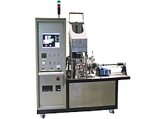Hardness tester for high temperature tests in vacuum