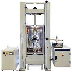 Universal testing machine Inspekt 250kN with temperature chamber and video exten-someter