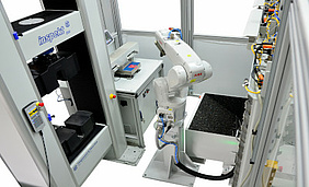 automated testing machine for automated metal tensile tests