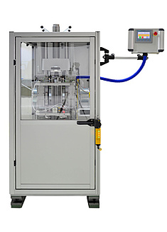 Rotational impact tester for impact tests