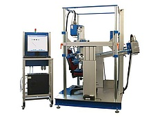 Alternating bending test rig