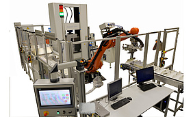 Automated metal tensile testing machine