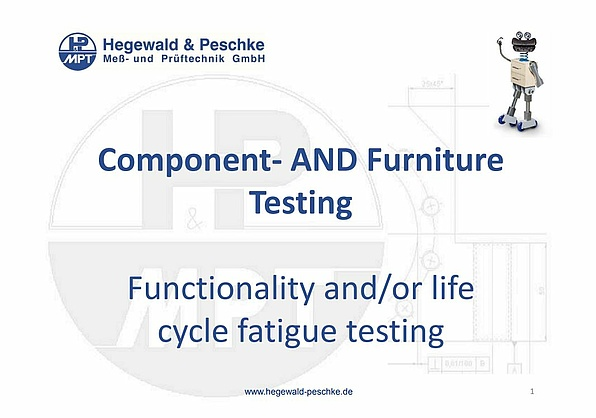 What to look for when testing furniture and components
