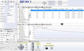 Software HardWinXL for hardness testing devices