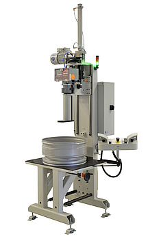 Automated hardness tester for car and truck rims